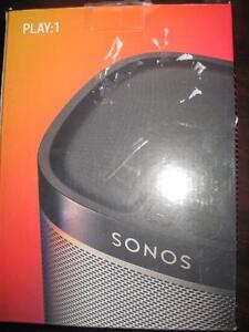 Sonos PLAY:1 Wireless Speaker. Uses Wifi. Crystal Clear Sound. 2 Amplifiers. Sonos app for Iphone / Samsung Galaxy. NEW