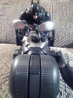 Batman on the Batpod Figure