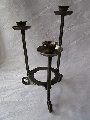 hübscher Kerzenständer Metall Kerzenleuchter 3 Kerzen