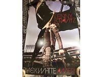 Huge Joblot of 40 Large Lenny Kravitz Posters Black & White Wholesale Boot Sale