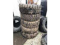 4 off road wheels and tyres 4x4