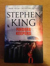 Stephen King, finders keepers. New
