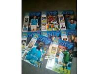 Man city football programmes