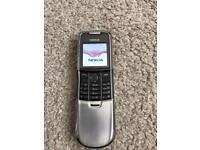 Nokia 8800 chrome EE network