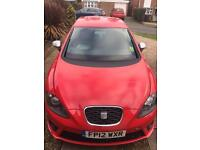 Seat Leon fr 12 plate