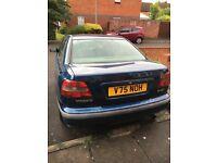 Volvo s40 December 1999 V plate 4 months MOT