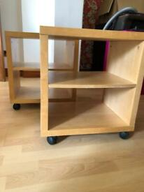 Two IKEA bedside/ side tables £10 for BOTH!