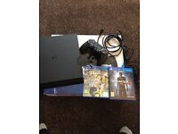 ps4 500gb (new) barely used