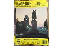 Hampshire - the county magazine approx 10 years 1980-1990