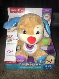 Brand new fisher price laugh & learn