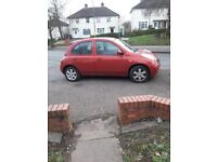 Nissan micra 1.2 urbis 2005 5 door very cheap to run and insure no px swap