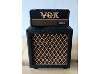 Vox ac30 amplug and mini amp stack.