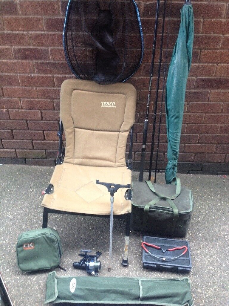 Used fishing tackle £60
