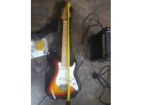 Elevation electric guitar and amp