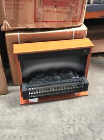 UNUSED Freestanding electric fire