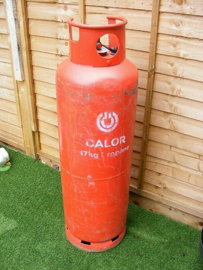Calor Gas EMPTY 47Kg Propane Gas Bottle Collection NN113AW ...