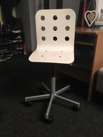 Argos Oak Effect desk & IKEA children's desk chair (sell 1 or 2) as new