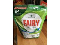 Fairy ultra power dishwasher tablets
