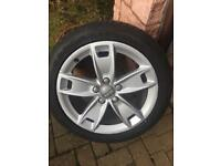 Audi A3 17inch Alloy Wheels with Tyres - 3 available