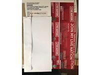 Eminem tickets x2