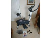 Reebok Exercise bike, full working condition. been hardly used.