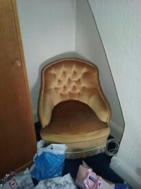Small bedroom chair (pair)
