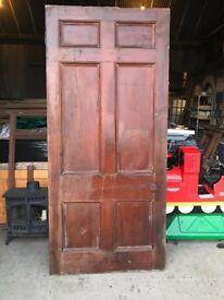 Large exterior door