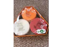 Sanctuary Spa - trio set of body butters *brand new*
