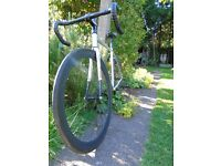 Fixie bike with carbon forks (selling or swap for mountain bike)