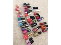 33 Nail polish and free bag
