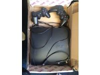Playstation 3 with 2 controllers PS3