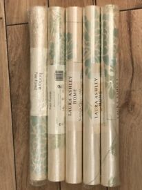 Laura Ashley Isodore Pale Forest Wallpaper