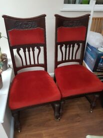 Edwardian Dining Chairs for sale