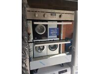 New/Ex-Display Indesit Built in double oven: electric FIMU 23 IX S. RRP £389