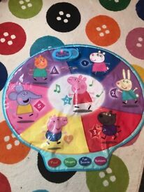 Peppa pig interactive play mat