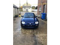 MGF Convertible sports needs alternator for spares or repair