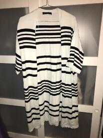 Woman's stripe cardigan UK14