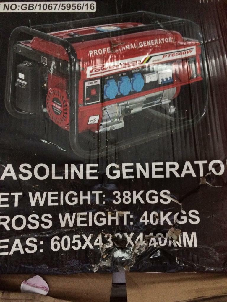 Generator new in box | in Docklands, London | Gumtree