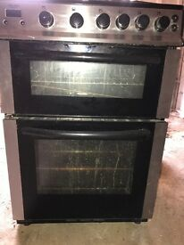 Bush Double Oven Gas Cooker