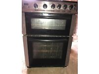 Bush Double Oven Gas Cooker