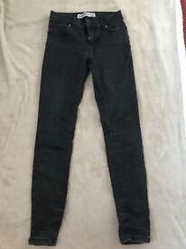 Newlook super skinny jeans size 8