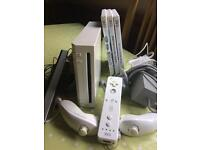 Wii console and all fittings