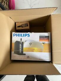 Philips PerfectDraft HD3720/26 Home Beer Keg Machine & Glassware Bundle BRAND NEW & SEALED