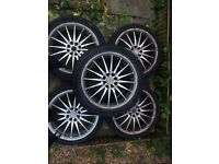 17 Inch multistud alloy wheels