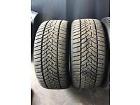 Winter tyres 225/40/18 and 245/40/18 bmw mercedes