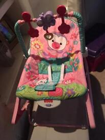 Fisher-Price Rainforest Infant and Toddler Rocker