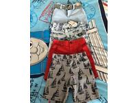 Brand new next shorts with tags age 3-4