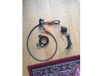 Bike tire locks