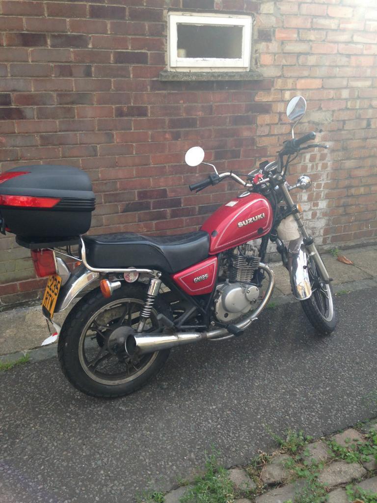 Suzuki GN 125cc *£450* ono