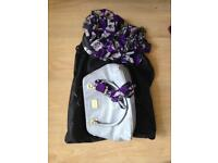 David Emanuel - handbag and scarf